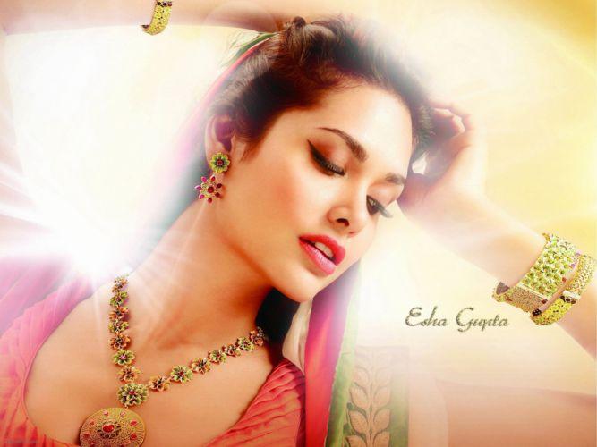 ESHA GUPTA indian actress bollywood model babe rw wallpaper