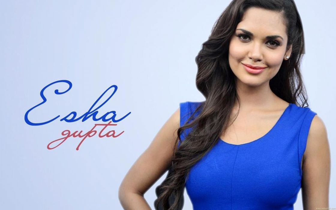 ESHA GUPTA indian actress bollywood model babe  gt wallpaper