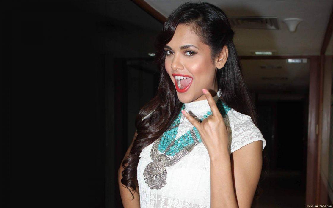 ESHA GUPTA indian actress bollywood model babe  ey_JPG wallpaper