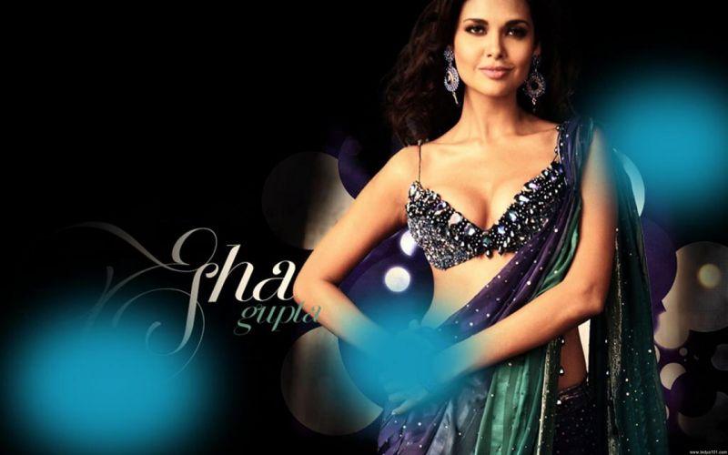 ESHA GUPTA indian actress bollywood model babe 4 wallpaper