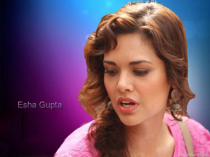 ESHA GUPTA indian actress bollywood model babe t wallpaper