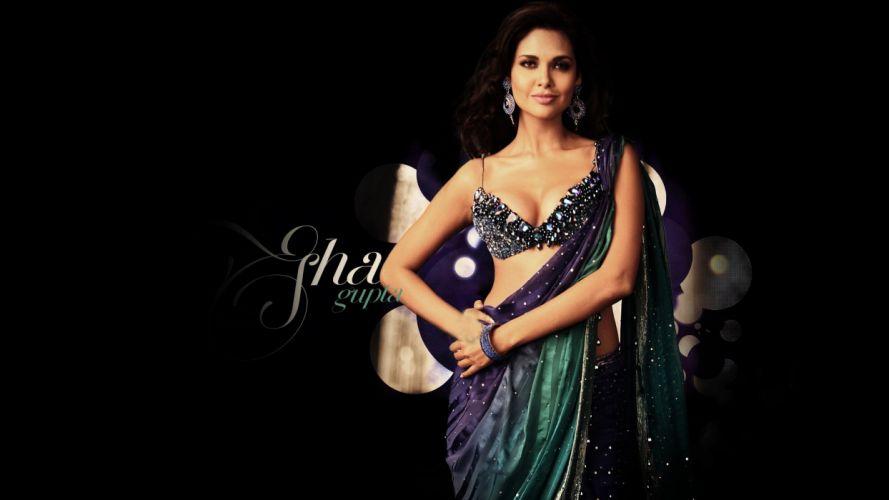 ESHA GUPTA indian actress bollywood model babe hd wallpaper