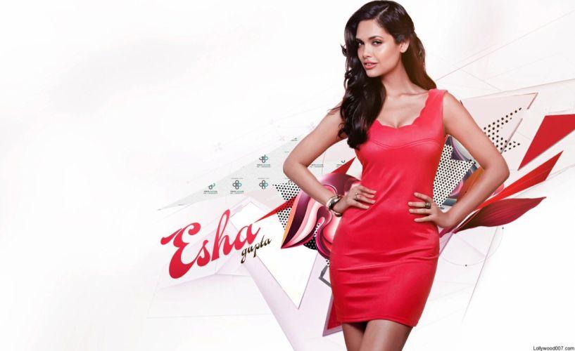 ESHA GUPTA indian actress bollywood model babe k wallpaper