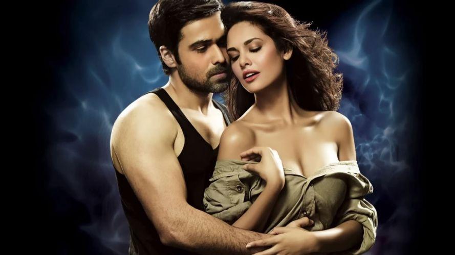 ESHA GUPTA indian actress bollywood model babe raaz sexy mood love wallpaper