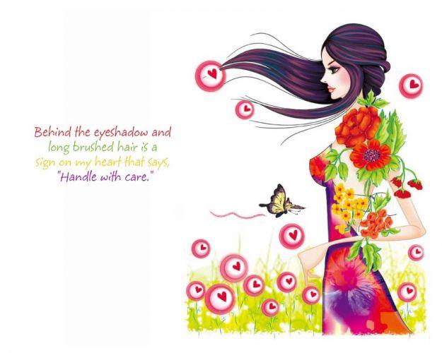 Girl attitude quote mood love boy men wallpaper