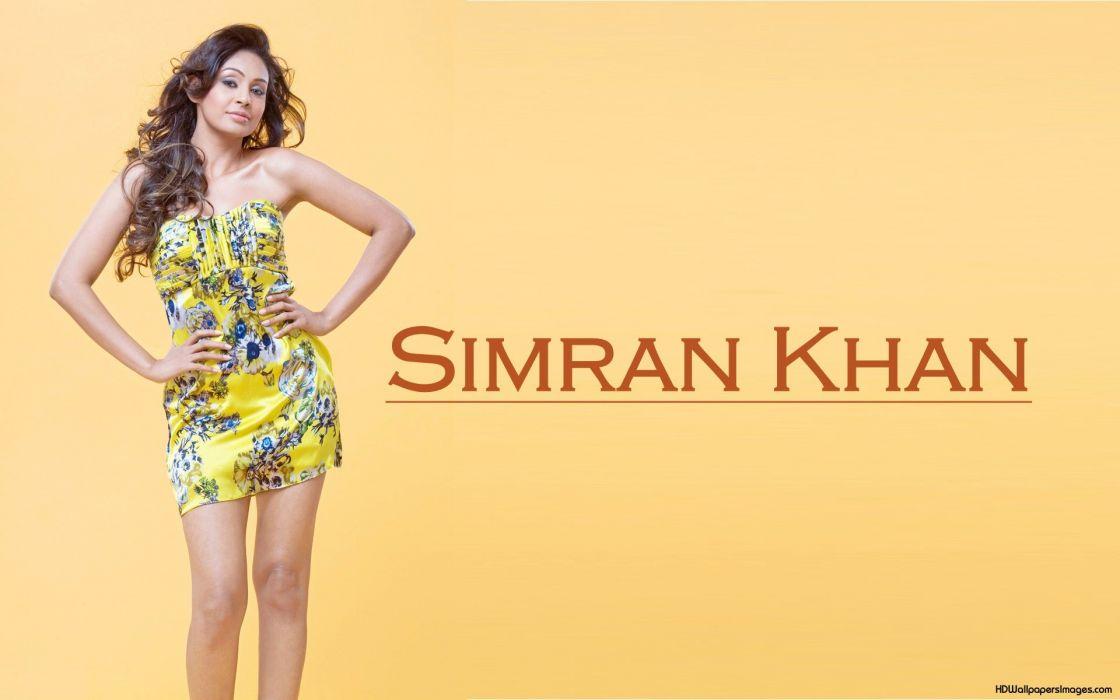 SIMRAN KHAN BOLLYWOOD indian bollywood actress babe sexy (6) wallpaper