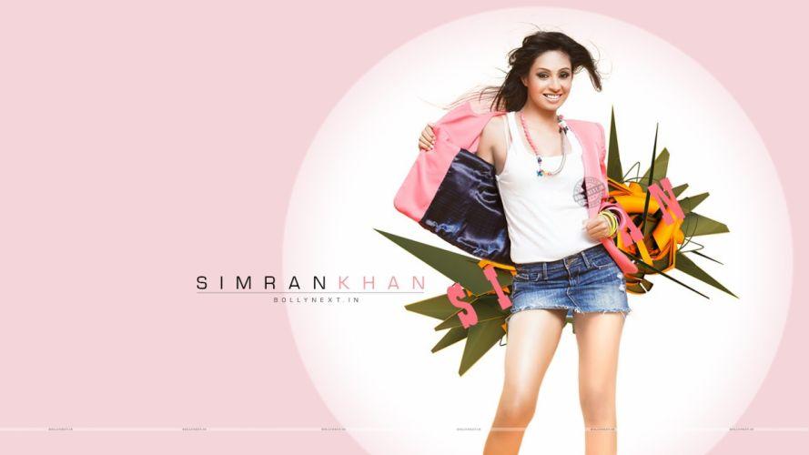 SIMRAN KHAN BOLLYWOOD indian bollywood actress babe sexy (4) wallpaper
