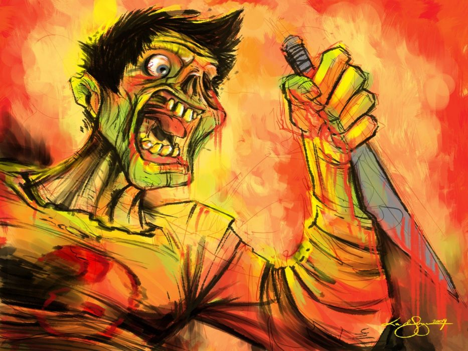 zombies Least I Could Do Ryan Sohmer Lar Desouza wallpaper