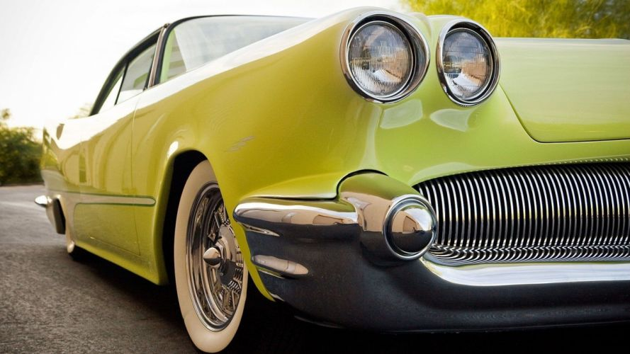 green old cars Classic wallpaper
