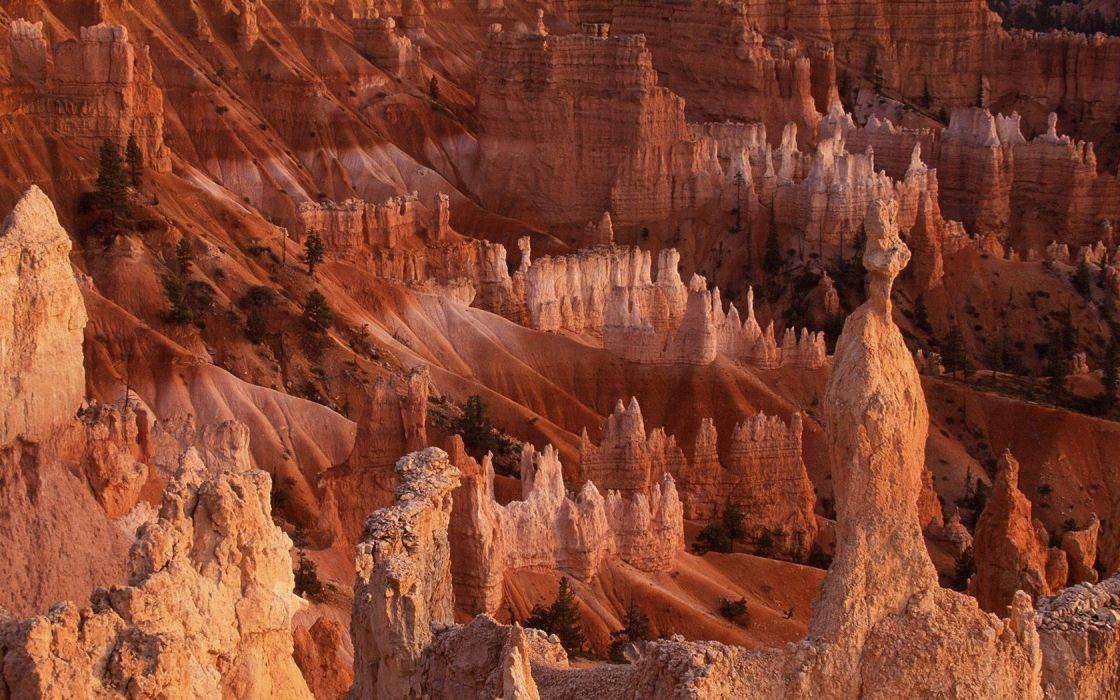 landscapes nature Bryce Canyon Utah National Park wallpaper