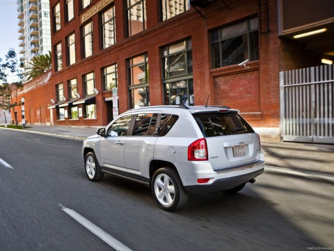cars silver Jeep Jeep Compass wallpaper