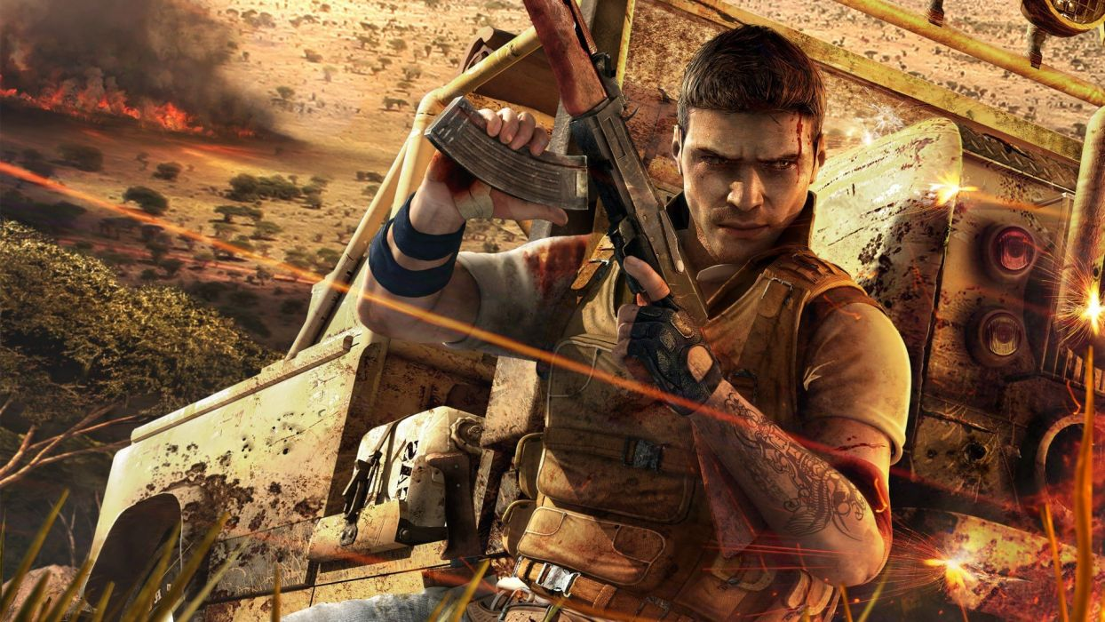 video games Ubisoft Far Cry 2 wallpaper