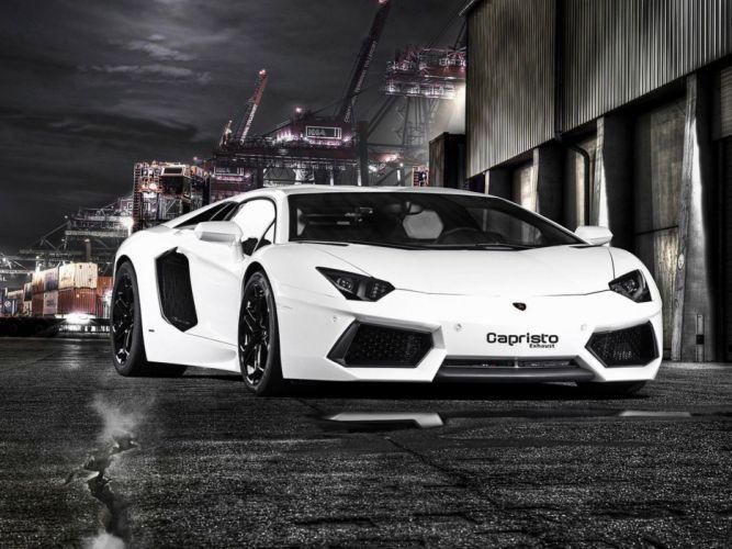 cars Italy Lamborghini Aventador luxury capristo wallpaper