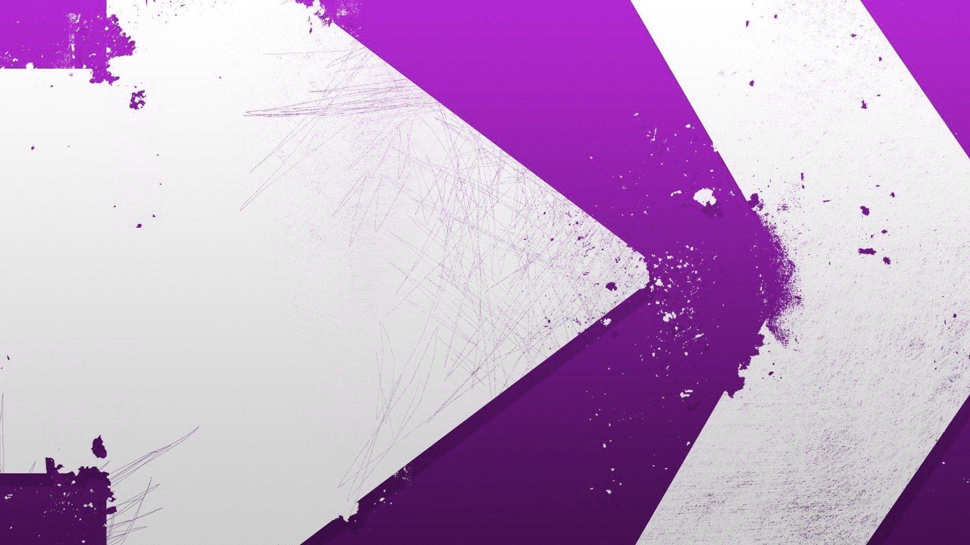 Abstract Design Purple Paint Arrows Wallpaper 1920x1080
