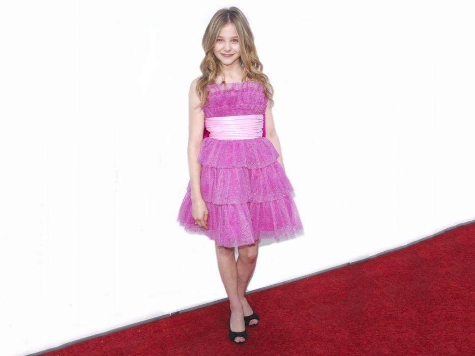 blondes women actress Chloe Moretz children wallpaper