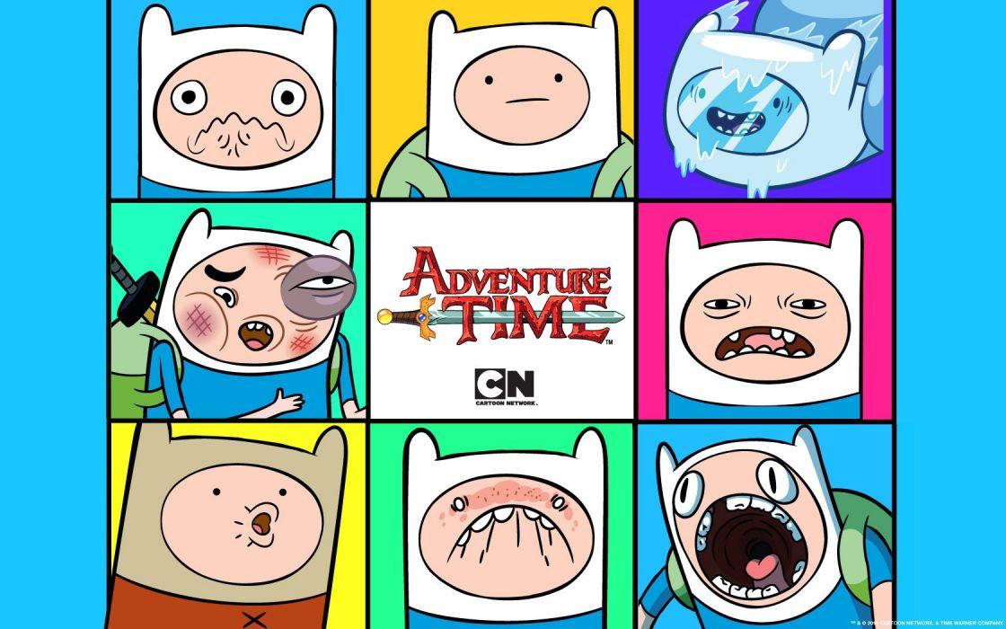 Adventure Time Finn the Human wallpaper