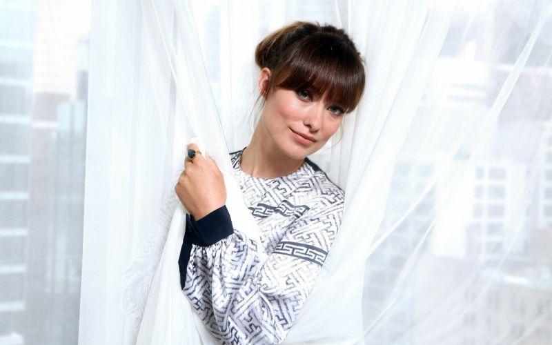 brunettes women actress Olivia Wilde wallpaper