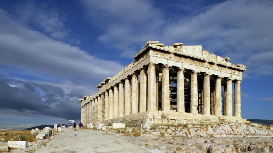 Greece Athens Parthenon wallpaper