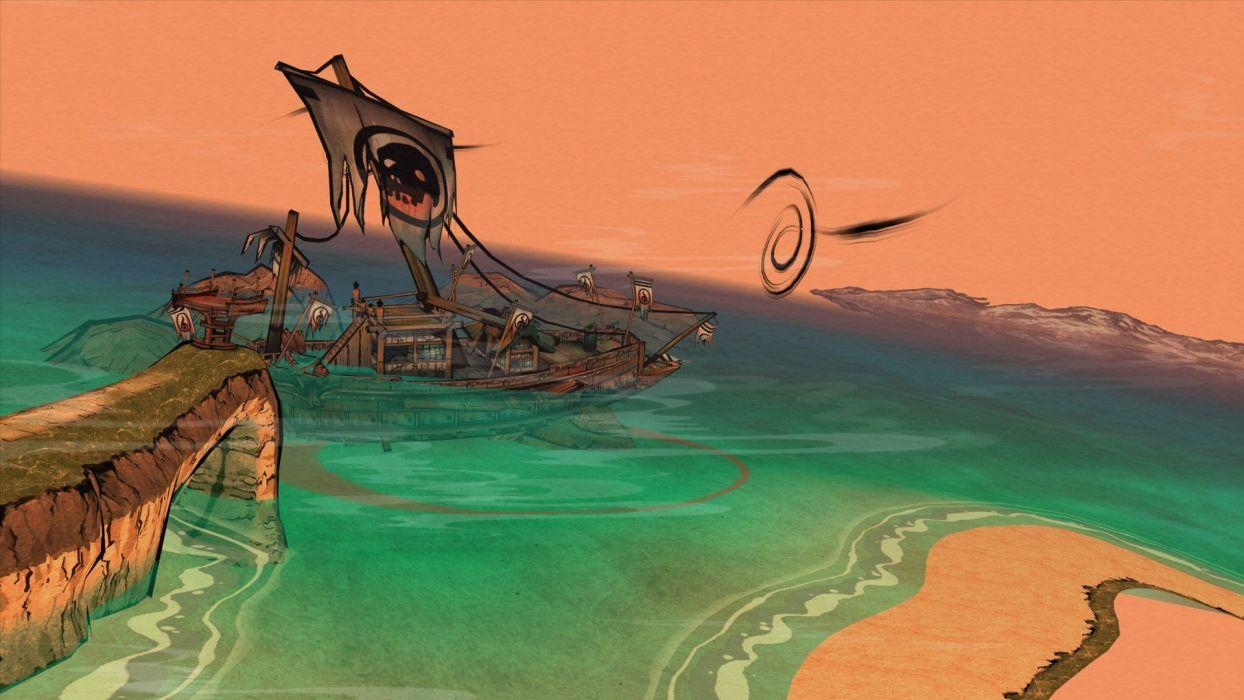 video games beaches wallpaper