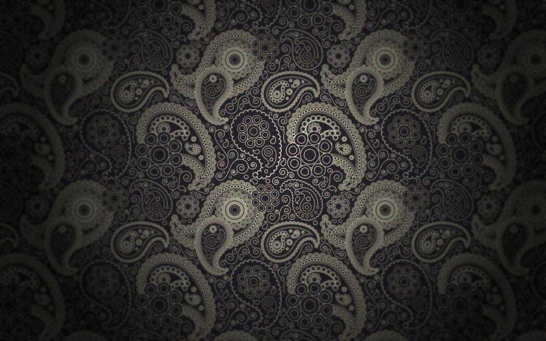 patterns circles digital art swirls wallpaper