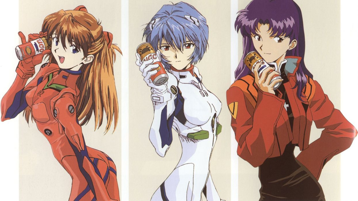 Ayanami Rei Neon Genesis Evangelion EVAs wallpaper