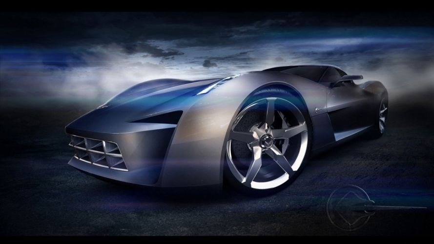 cars concept cars Chevrolet Corvette Chevrolet Stingray Concept wallpaper