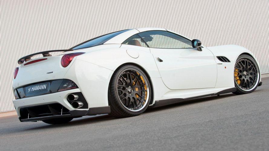 cars Ferrari California Hamann wallpaper