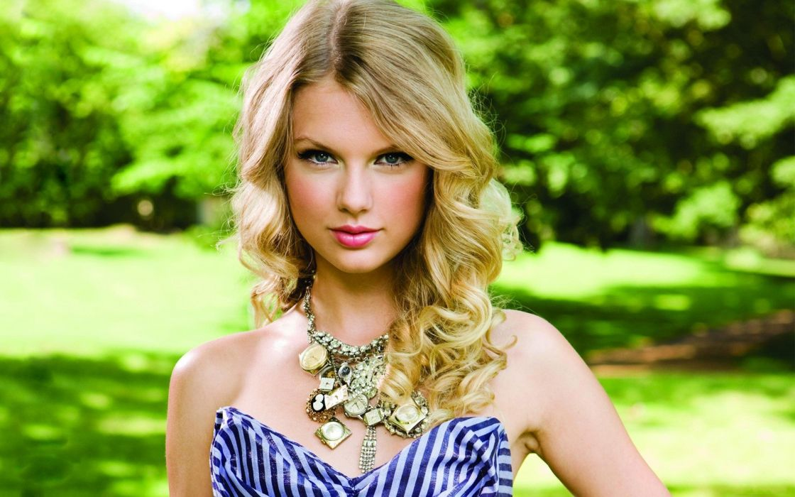 blondes women eyes Taylor Swift lips lipstick wallpaper