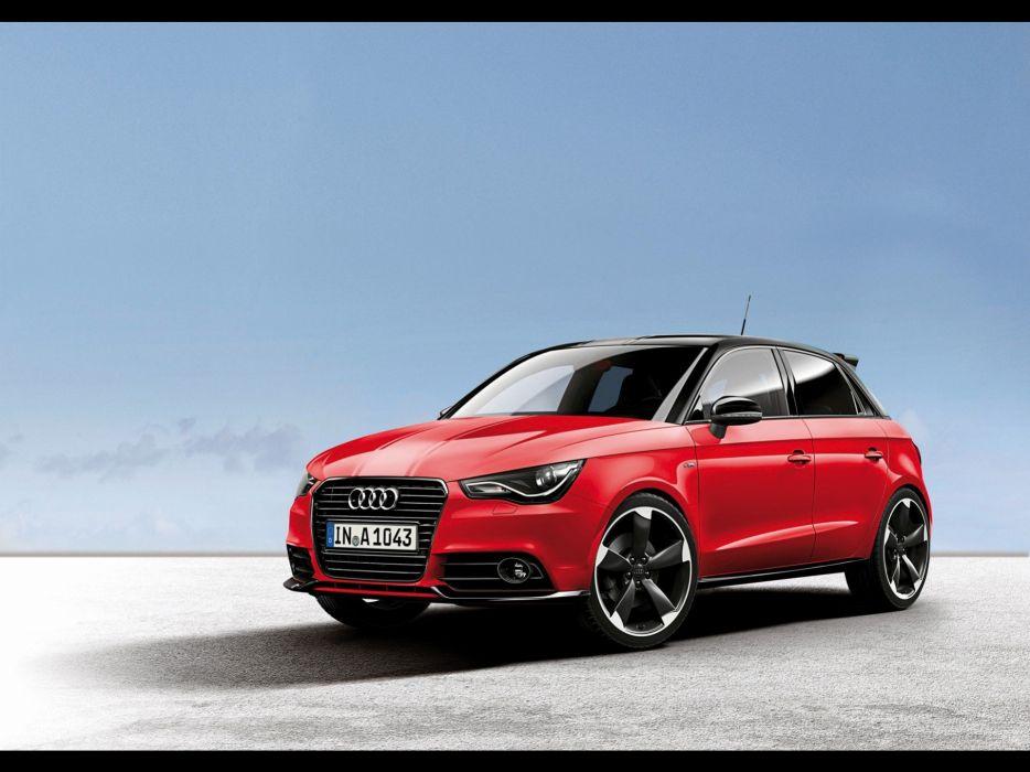 cars Audi A1 red cars static wallpaper