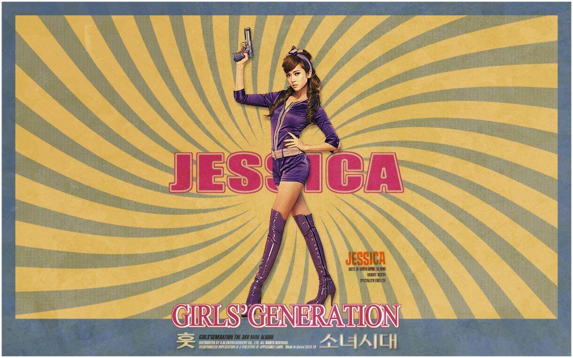 Girls Generation SNSD celebrity Jessica Jung wallpaper