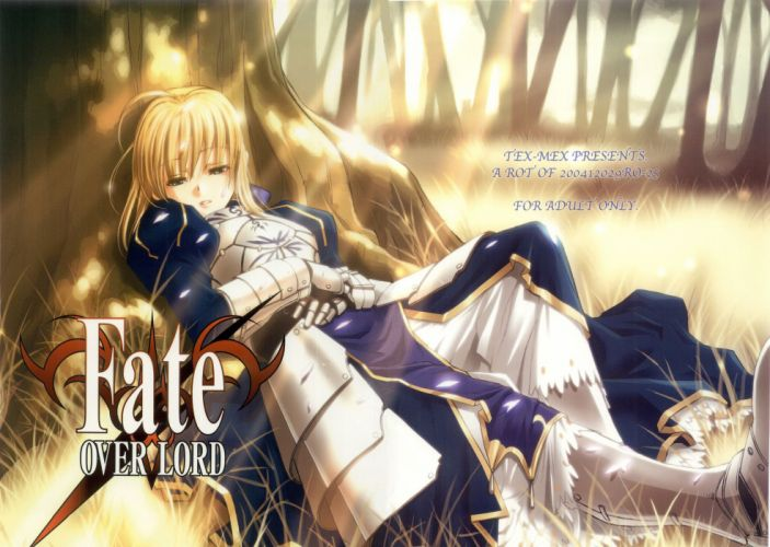 Fate/Stay Night Type-Moon Saber Fate series wallpaper