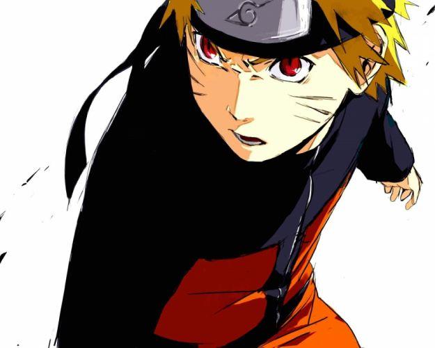 Naruto: Shippuden red eyes anime Uzumaki Naruto wallpaper