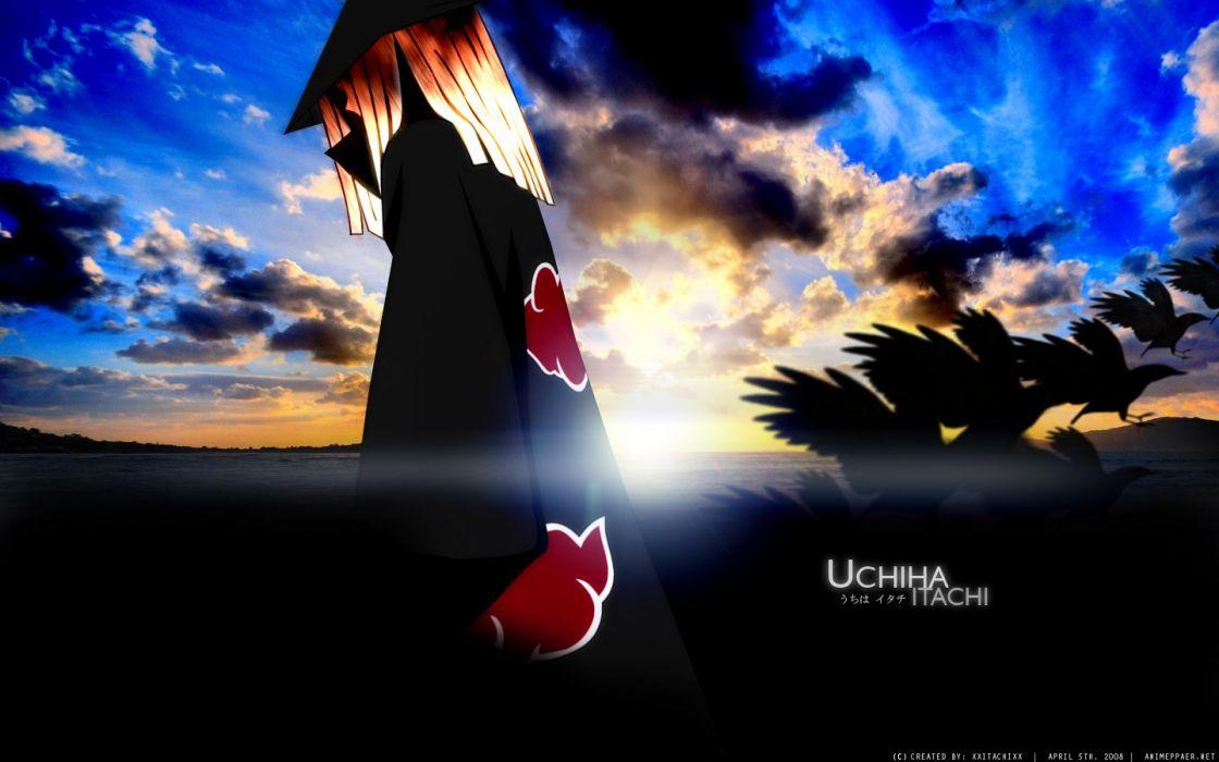 Naruto: Shippuden Akatsuki Uchiha Itachi wallpaper