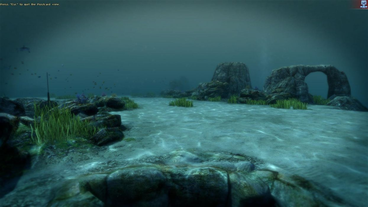 video games screenshots underwater wallpaper