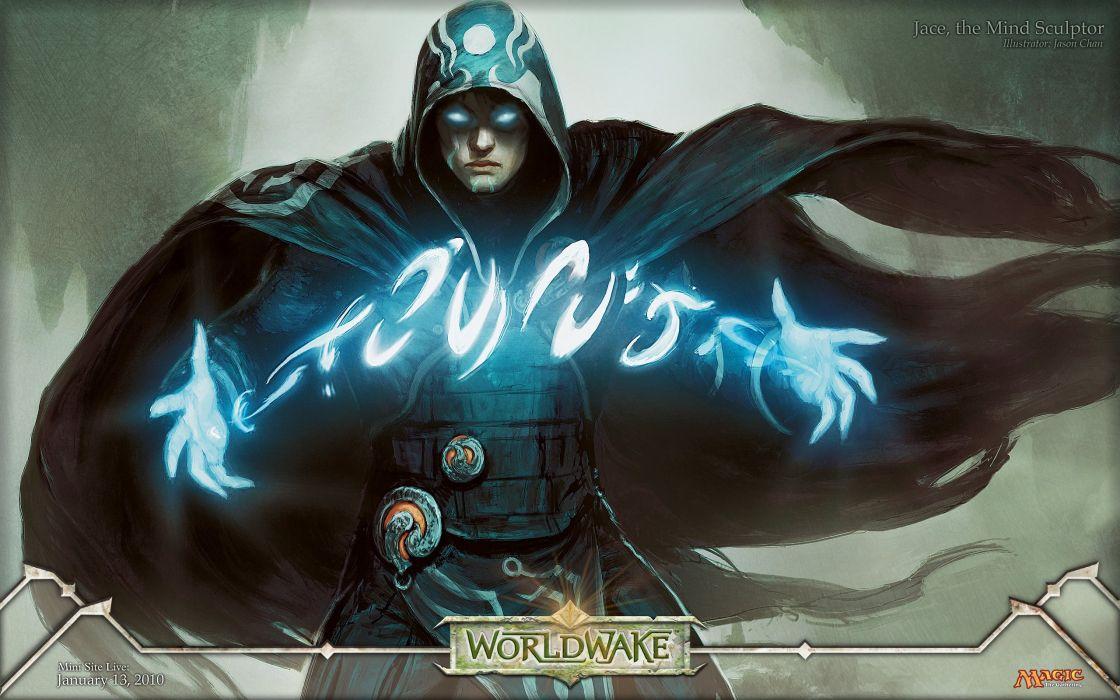 Magic: The Gathering Jace Beleren Planeswalker Jason Chan wallpaper