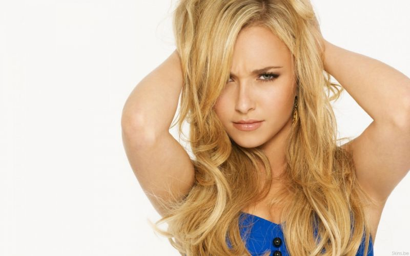 blondes women actress Hayden Panettiere celebrity wallpaper