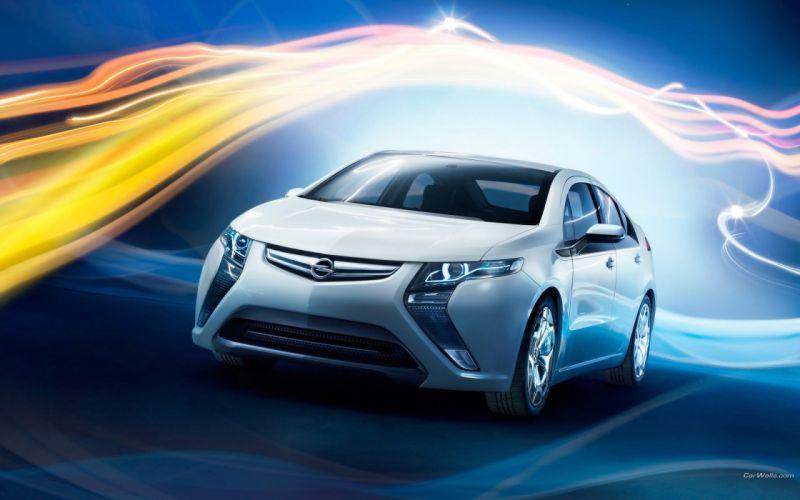 cars Opel Ampera wallpaper