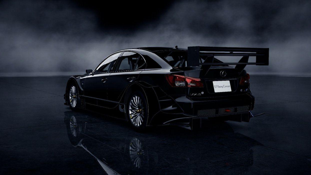 video games cars Lexus ISF Gran Turismo 5 Playstation 3 wallpaper