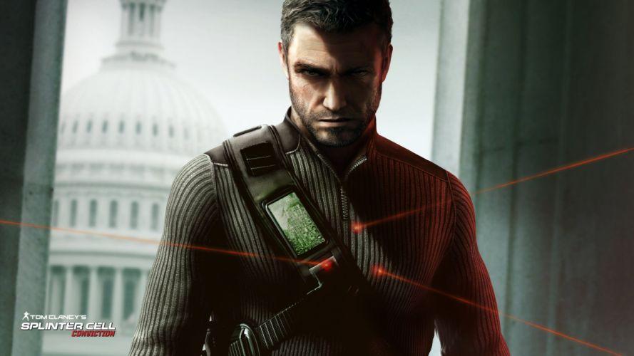 video games Splinter Cell Tom Clancy Splinter Cell Conviction wallpaper