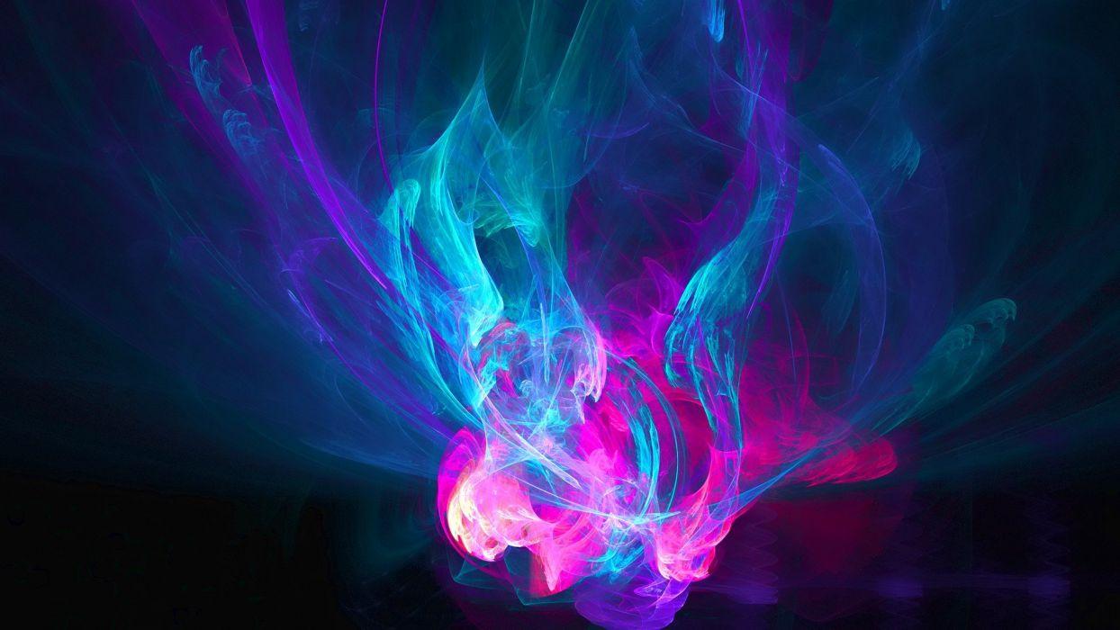 abstract blue dark pink fluid wallpaper | 1920x1080 | 325557