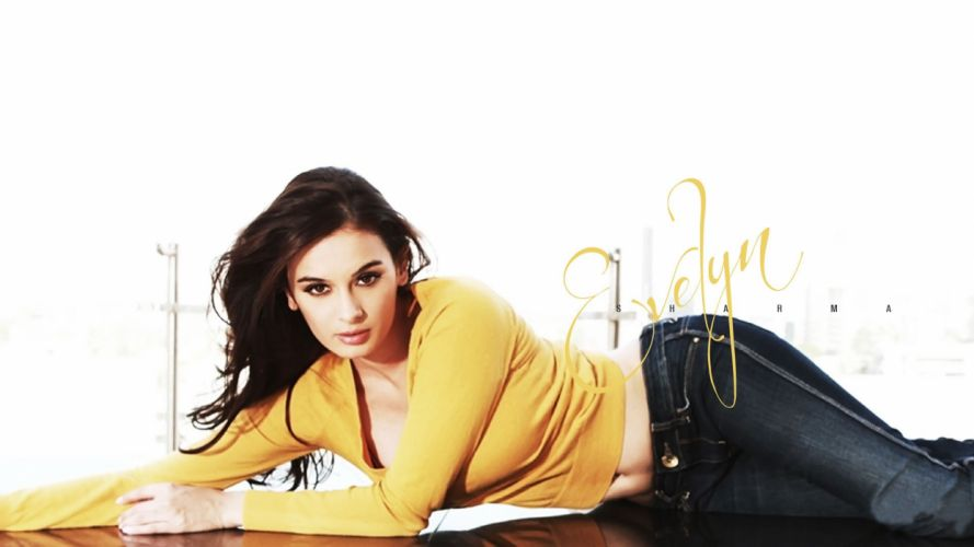 EVELYN SHARMA german indian actress model babe (17) wallpaper