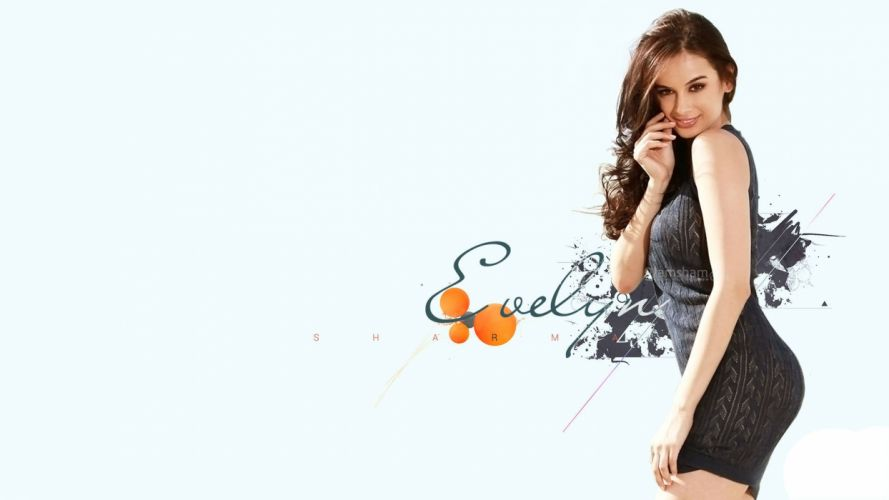 EVELYN SHARMA german indian actress model babe (50) wallpaper