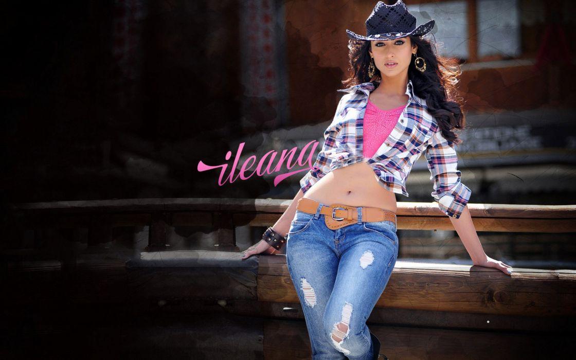 ILEANA DCRUZ indian actress model babe (15) wallpaper