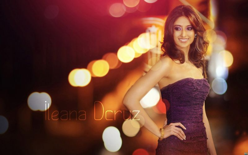 ILEANA DCRUZ indian actress model babe (43) wallpaper