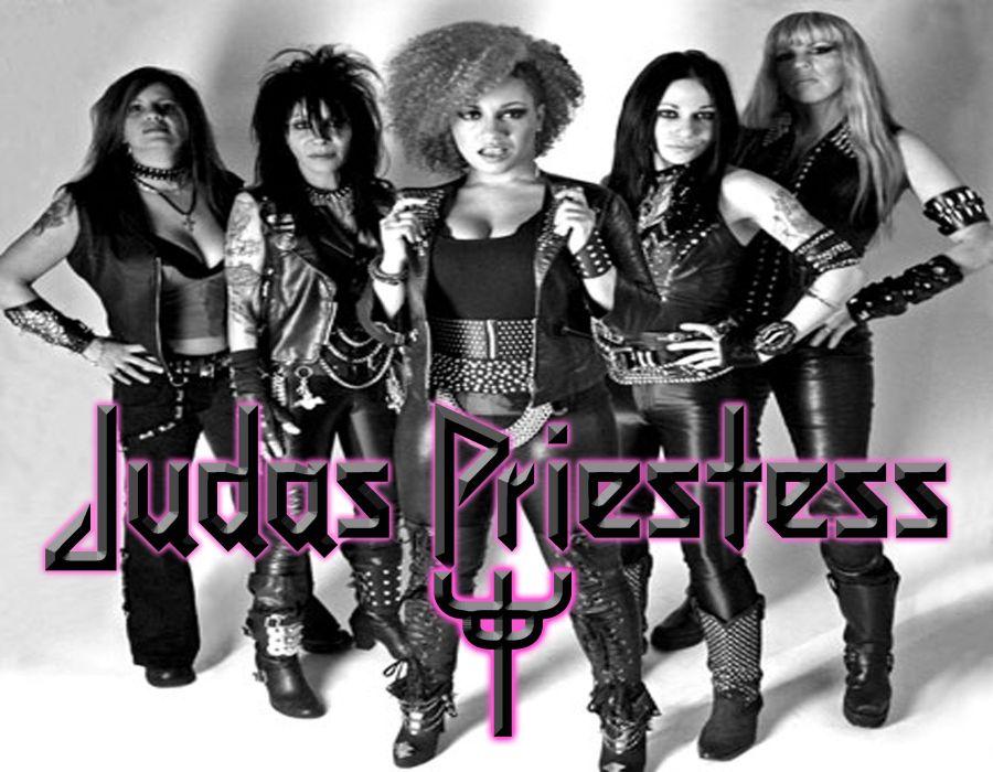 Judas Priestess priest heavy metal poster wallpaper