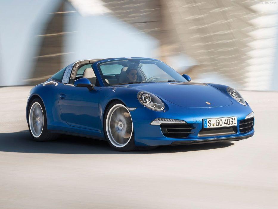 Porsche-911 Targa 2015 1600x1200 wallpaper 02 wallpaper
