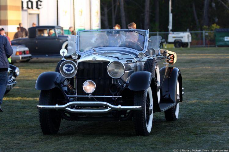 1929 Lincoln L-163B Locke Sport Phaeton wallpaper