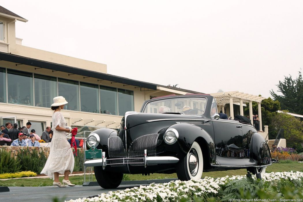 1940 Lincoln-Zephyr Convertible wallpaper