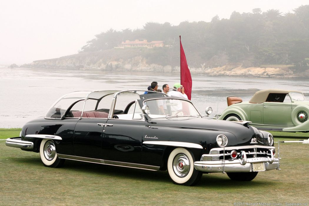 1950 Lincoln Dietrich Presidential Convertible Limousine wallpaper