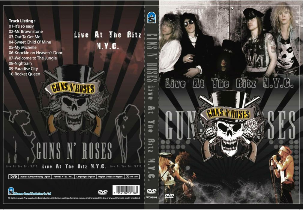 GUNS N ROSES heavy metal hair hard rock poster wallpaper